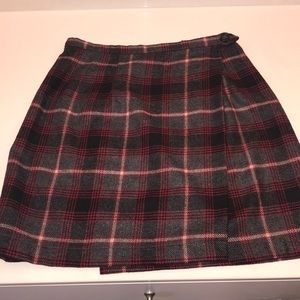 Old Navy Retro Tartan Mini Skirt